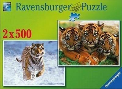 Ravensburger Puzzles Ravensburger Gorgeous Tigers