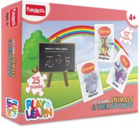 Funskool Let's Learn Animals & Their Sounds (25 Pieces)