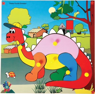 Skillofun Skillofun Theme Puzzle Dinosaur