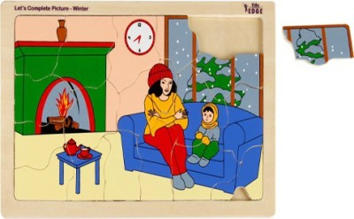 Eduedge Puzzles Eduedge Let'S Complete Picture Winter