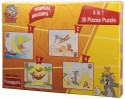 Funskool Tom And Jerry 4 In 1 30 Pieces Puzzle - 30 Pieces