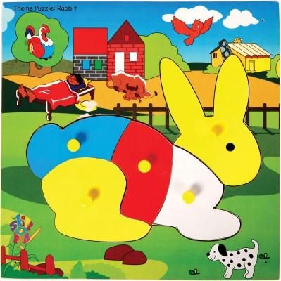 Skillofun Skillofun Theme Puzzle Standard Rabbit