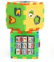 Shop & Shoppee Play And Learn All In One Cubes Game (12 Pieces)