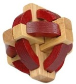 GeekGoodies Puzzles GeekGoodies Red Wooden Puzzle