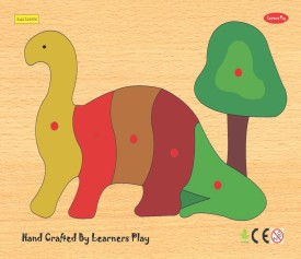 Learner's Play Dinosaur Knob Puzzle