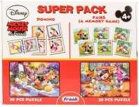 Frank Disney Mickey Mouse & Friends Puzzle Set - 30 Pieces (30 Pieces)