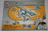 Edu Experts Metal Puzzle Plane (101 Pieces)