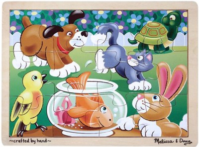 Melissa & Doug Puzzles Melissa & Doug Playful Pets Jigsaw