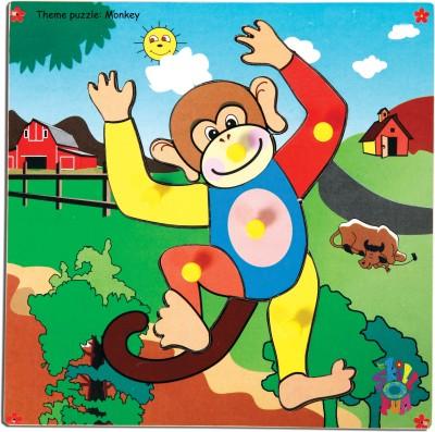 Skillofun Skillofun Theme Puzzle Standard Monkey