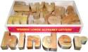 Kinder Creative Wooden Lower Alphabet Block Set - 26 Pieces
