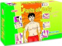 KKD (Kids Zone) Puzzle Parts Of Body - 15 Pieces
