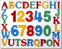 Little Genius English Alphabets And Numbers - 36 Pieces - PUZDRVMST4RTZT5B