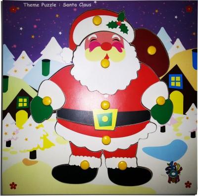 Skillofun Skillofun Theme Puzzle  Santa Claus