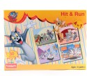 Funskool Tom And Jerry Hit And Run 4-In-1 Puzzle Game - 30 Pieces