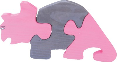 Enigmatic Woodworks Puzzles Enigmatic Woodworks Wooden Jigsaw Puzzle Rhinoceros