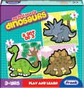 Frank My First Puzzle Dinosaurs - 15 Pieces