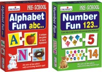 Creative's Combo Pack Of Alphabet & Number Fun (92 Pieces)