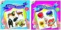Ratnas Pack Of 2 -Educational Animal&Flower Puzzle - PUZDWFW3QVZGYXP6