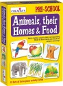 Creative's Animals, Their Homes & Food - 63 Pieces