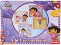 Funskool Nickelodeon Dora 4 In 1 Puzzle - 30 Pieces