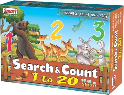 Smart Search & Count   1 to 20 24 Pieces available at Flipkart for Rs.240