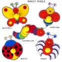 Little Genius Favourite Object Tray Insects - 5 Pieces