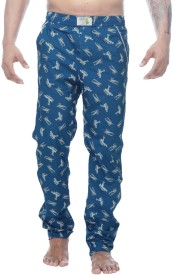 Clickroo Men's Printed Pyjama
