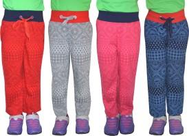 Shaun Printed Girl's Multicolor Track Pants