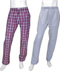 Orange and Orchid Men's Night Pant Pyjama