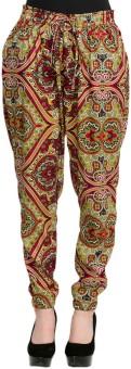 Oxolloxo Plus Size Printed Women's Pants Pyjama (Pack Of 1)