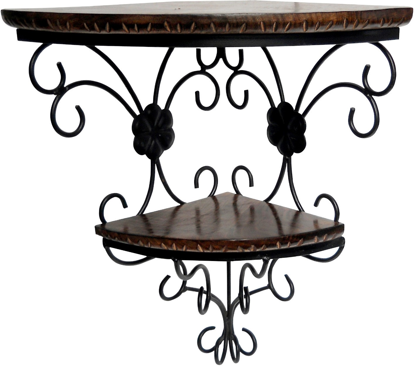 Pindia Design Home Decor Wall Hanging Fancy Double Bracket