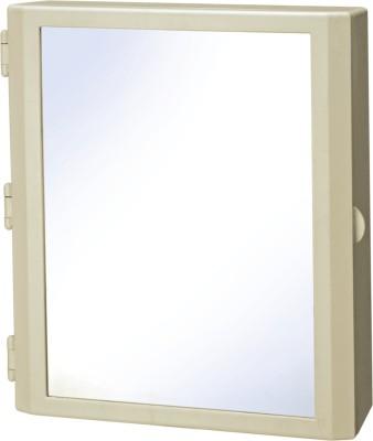 Cipla Plast Flora Bathroom Mirror Cabinet Ivory Plastic Wall Shelf For Rs 2 333 At Flipkart