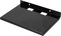 Bexton NE Multi Utility Stand Iron Wall Shelf (Number Of Shelves - 1, Black)