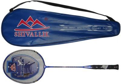 Shivallik G-Force 0.3 G4 Strung Badminton Racquet (Blue, Weight - 300 g)