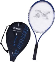 Vector X Vxt 520 26 Inches 3# Strung Tennis Racquet (Blue, White, Weight - 290 G)