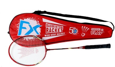 Megaplay FX G4 Strung Badminton Racquet (Red, Weight - 90 g)