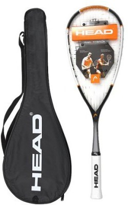 Head Nano Ti 120 Strung Squash Racquet (Weight - 120)