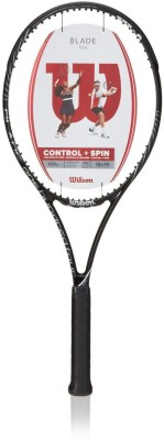 Wilson Blade 104 4 3/8 Unstrung Tennis Racquet (Multicolor, Weight - 289 g)