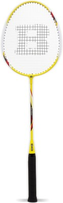 Burn BN006 Standard Strung Badminton Racquet (Yellow, Black, Weight - 95 g)