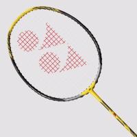 Yonex Voltric 2 Lin Dan G4 Strung Badminton Racquet (Yellow, Black, Weight - 80)