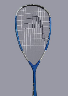 Head Liquidmetal 120 Strung Squash Racquet (Weight - 120)
