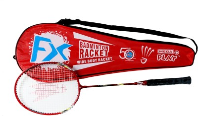Megaplay FX R3 G4 Strung Badminton Racquet (Red, Weight - 90 g)