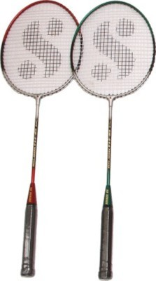 Hariom enterprises HTD-2214 G4 Badminton Racquet (Multicolor, Weight - 400 g)
