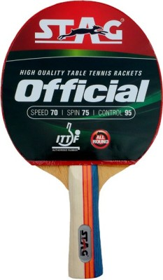 Stag Official Table Tennis Racquet (Weight - 84 g)