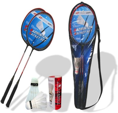 Speed Up X Force GSH Strung Badminton Racquet (Multicolor, Weight - 250 g)