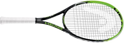 Head MX Cyber Elite G3 Strung Badminton Racquet (Black, Green, Weight - 3U)