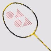 Yonex Voltric 8 LD G4 Strung Badminton Racquet (Yellow, Black, Weight - 80)