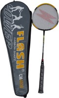 FLASH POWER 4000 G4 Strung Badminton Racquet (Black, Weight - 0.350 Kg)