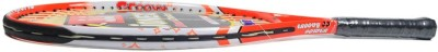 Jonex Groovy 23 Power Standards Unstrung Tennis Racquet (Orange, White, Weight - 300 g)