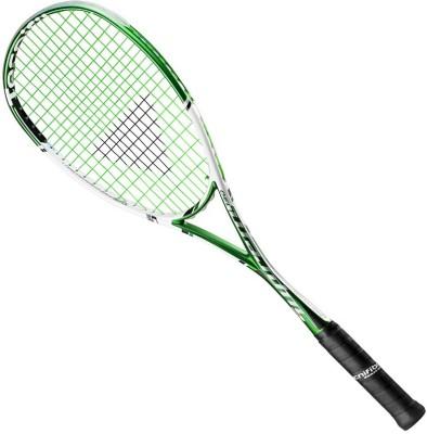 TECNIFIBRE SUPREME 130 G3 Strung Squash Racquet (Green, White, Weight - 130 g)